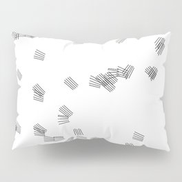 Black & white puzzle Pillow Sham