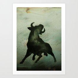 TRK - Bull Art Print