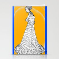 nouveau Stationery Cards featuring Nouveau by Madame Mim