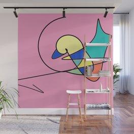 Magic Duck Wall Mural