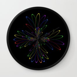 Abstract Perfektion 88 Wall Clock