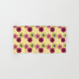 Flower Pattern XIII Hand & Bath Towel