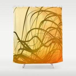 Sunset Flow Shower Curtain
