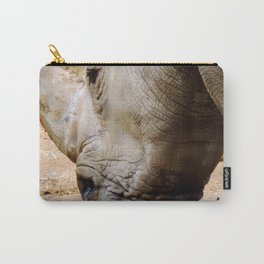 Close Up Rhinos Carry-All Pouch
