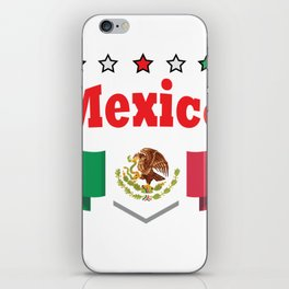 World Football 2018 Mexico iPhone Skin