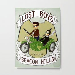 Lost Boys Metal Print