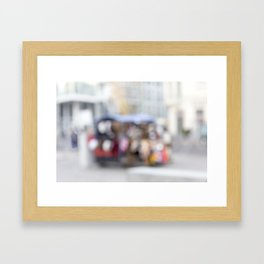 Street Cart Framed Art Print