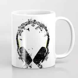 Art Headphones Coffee Mug