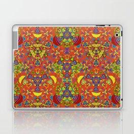 Retro blooming garden Laptop & iPad Skin