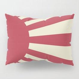Rising Sun Flag Pillow Sham