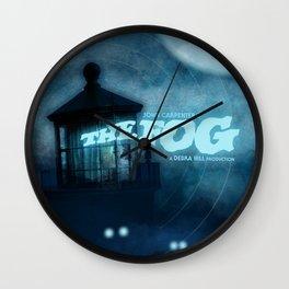 The Fog - Phantom Blue Wall Clock