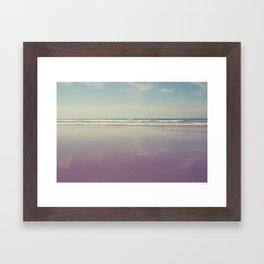 Sea waves 3 Framed Art Print