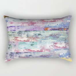 Abstract 195 Rectangular Pillow
