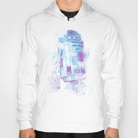 r2d2 Hoodies featuring R2D2 by Sitchko Igor