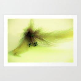 Soft Feather 1 Art Print