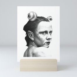 tHE SPACEINVADERS 2# Mini Art Print