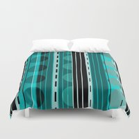 road Duvet Covers featuring Road by JuniqueStudio