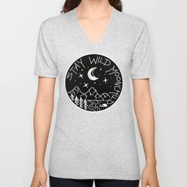 Stay Wild Moonchild Unisex V-Neck