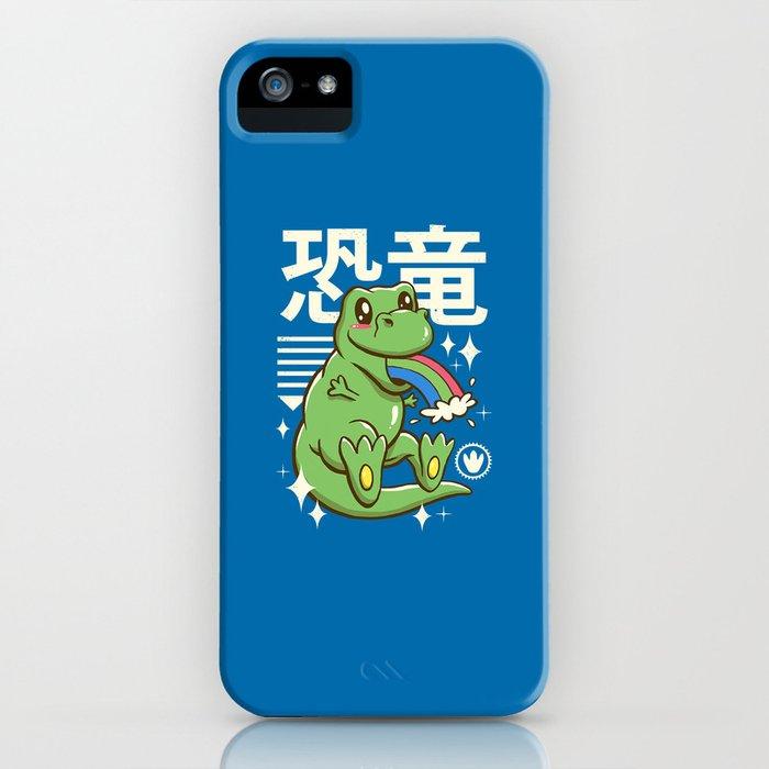 Kawaii T-Rex iPhone Case
