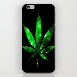 Weed : High Times green Galaxy iPhone Skin