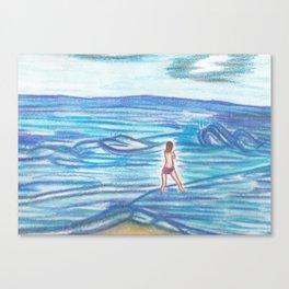 Sogno il mare Canvas Print