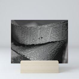 Recycled Tire Mini Art Print