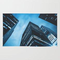 new york city building Rug
