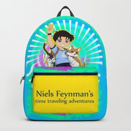 Niels Feynman | Cover poster Backpack