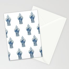 Blue and White Ginger Jar  Stationery Cards