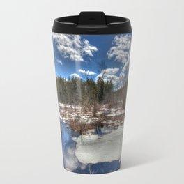 Early Spring Marsh Travel Mug