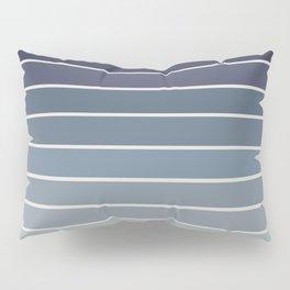 Gradient Arch - Blue Tones Pillow Sham