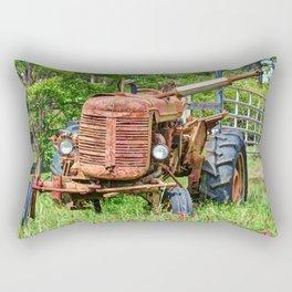 Rusty Farmall Rectangular Pillow