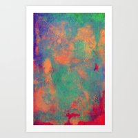 batik Art Prints featuring batik by Camila Rodrigué