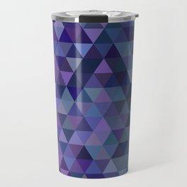 Triangle tiles Travel Mug