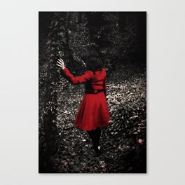 Red Riding Hood 1 Canvas Print