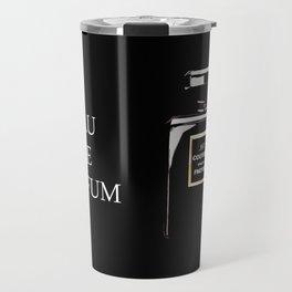 Black Parfum on black Travel Mug