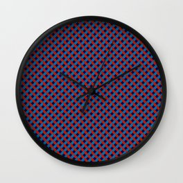 3D Red Blue Stereo Vision Wall Clock