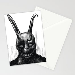 """Donnie Darko Frank The Rabbit """"Only You and Him"""" Stationery Cards"""