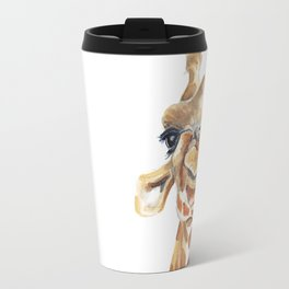 Giraffe Travel Mugs | Society6