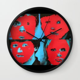 Talking Heads - Remain in Light Wall Clock