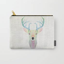 white deer Carry-All Pouch