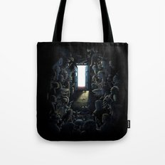 Waiting Doctor Who Tote Bag