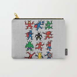 Keith Superheroes Carry-All Pouch