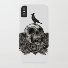 Skull and Crow iPhone X Slim Case