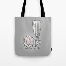 Bat-tered Tote Bag