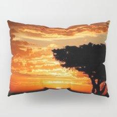 Fiery Dragon Pillow Sham