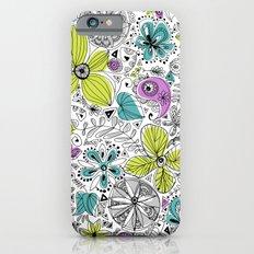 Doddle flowers Slim Case iPhone 6s