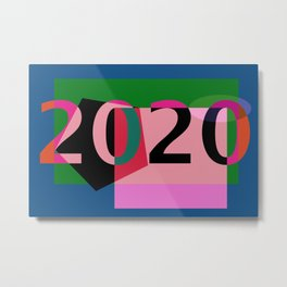NEW YEAR 2020 SOUND Metal Print