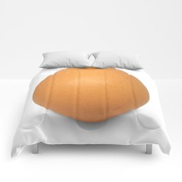 Chicken Egg , the brown eggs Artistic inspiration Comforters