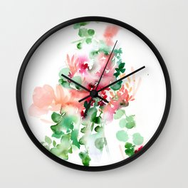 Hana No. 4 Wall Clock